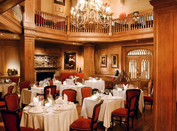 Mosimann's private dining club, London