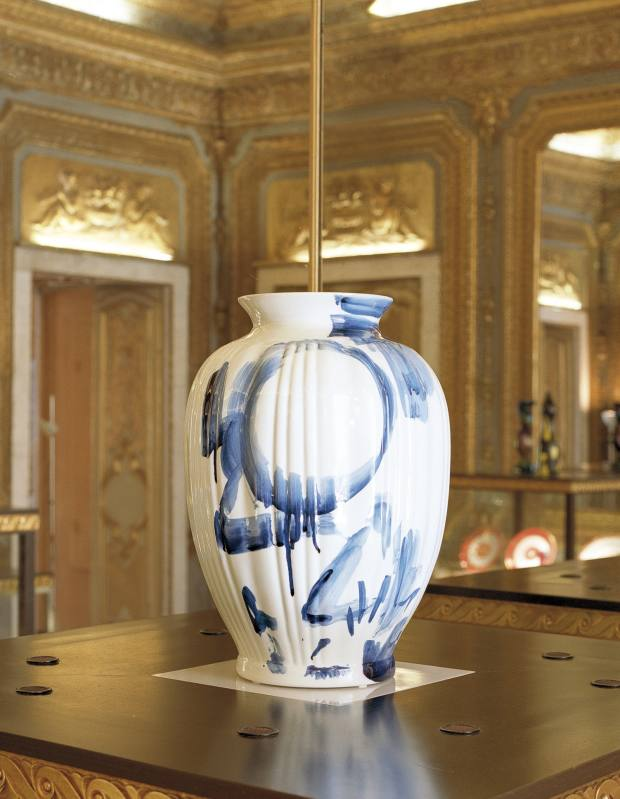 One Minute Delft vase by Marcel Wanders (€3,700).