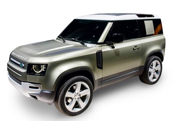 The new Land Rover Defender, £40,290-£78,800
