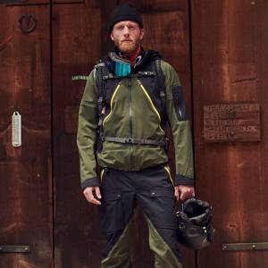 Aztech Mountain stretch-nylon Hayden 3 Layer Shell jacket, $895, and matching pants, $650