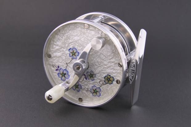 Willow Classic mother-of-pearl fishing reel, $699
