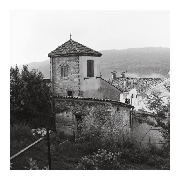 Le Bar-sur-Loup, in France's Alpes-Maritimes. Taken by the author using a Rolleicord