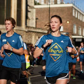 The inaugural Adidas CityRun 10K took place in Shoreditch last October