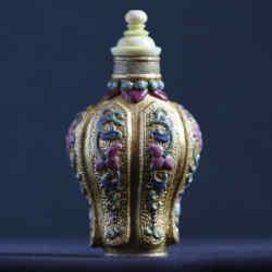 Emperor Qianlong bottle, £65,000, from Robert Kleiner