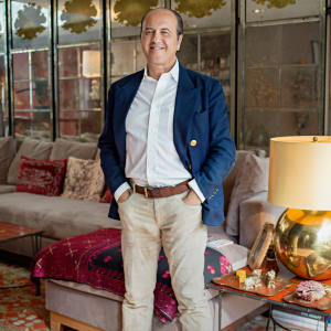 Prosper Assouline at home in New York