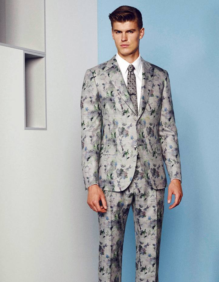 Brioni wool/silk suit, from £4,700