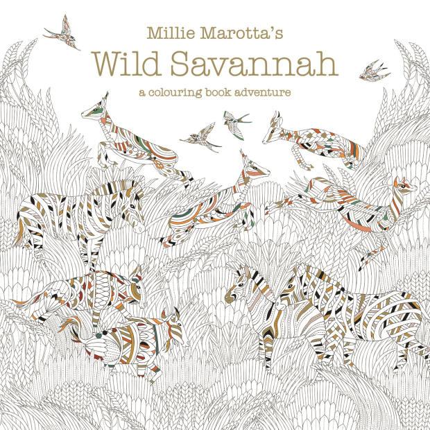 Millie Marotta's Wild Savannah: A Coloring Book Adventure (Batsford, £9.99)