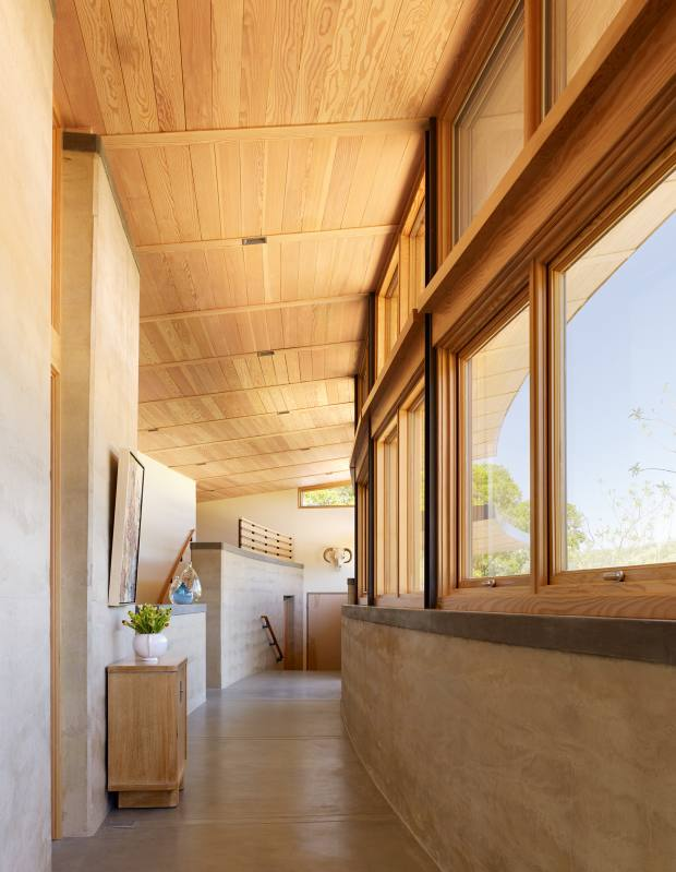 The interior of Feldman Architecture's Caterpillar House in Carmel, California, similar projects from $1.5m