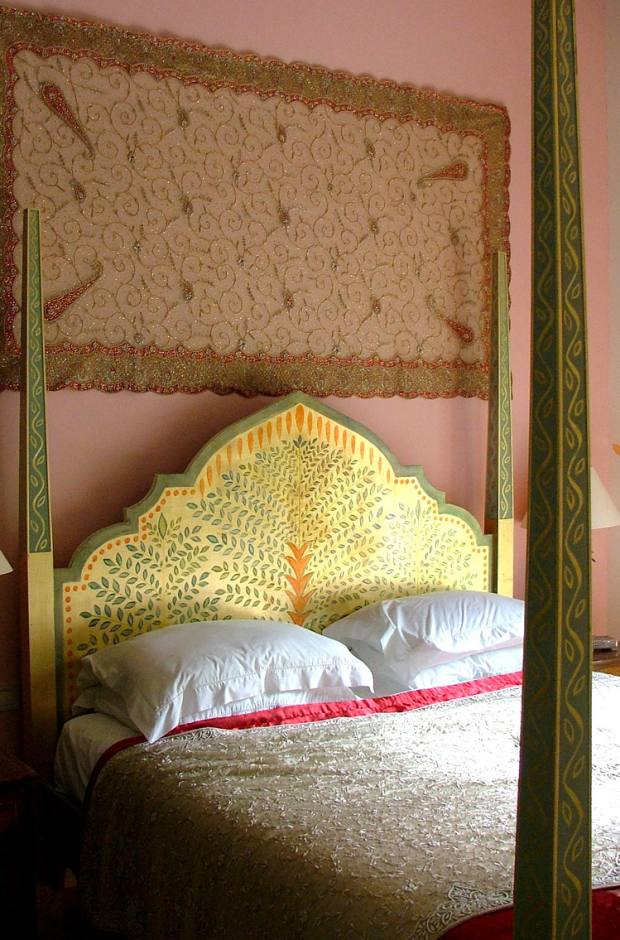 Foale & Sonscreates intricately decorated bedheads, from £2,500, and beds, from £7,000