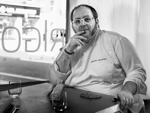 Rigo executive chef Gonzalo Luzarraga
