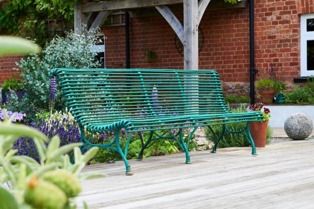 Early-20th-century Arras bench, £4,950 from Violet Grey