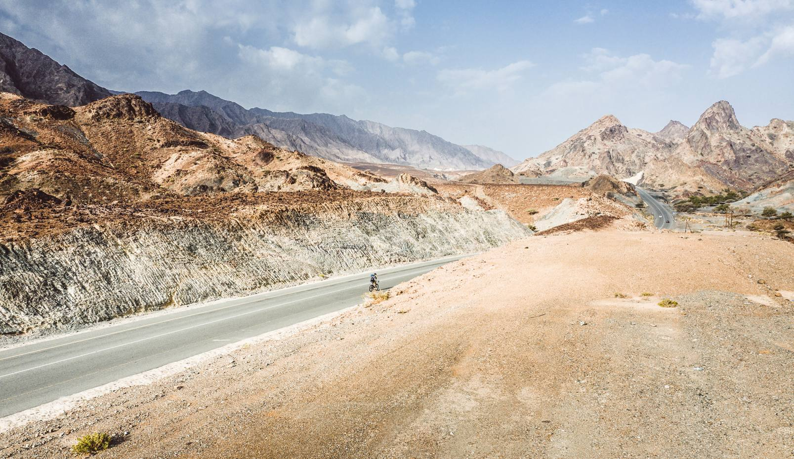 A gruelling endurance cycling challenge in Oman