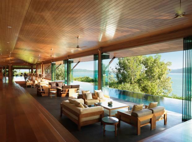 The Long Pavilion at Hamilton Island's Qualia resort