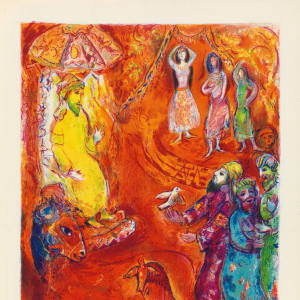 The Ebony Horse, from Four Tales from The Arabian Nights, by Marc Chagall