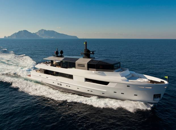 The 35m Arcadia 115, from about €10.5m excluding VAT