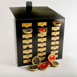 The Prunier Caviar Advent Calendar, £295