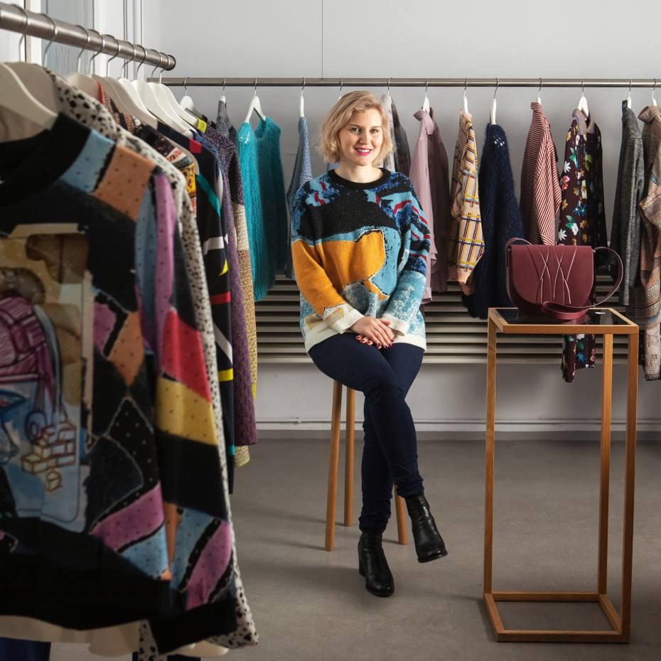 Shop proprietor Edda Mann