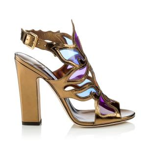 Jimmy Choo leather and Perspex Lumia sandals, £695