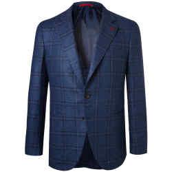 Wool/silk hopsack blazer, £1,650