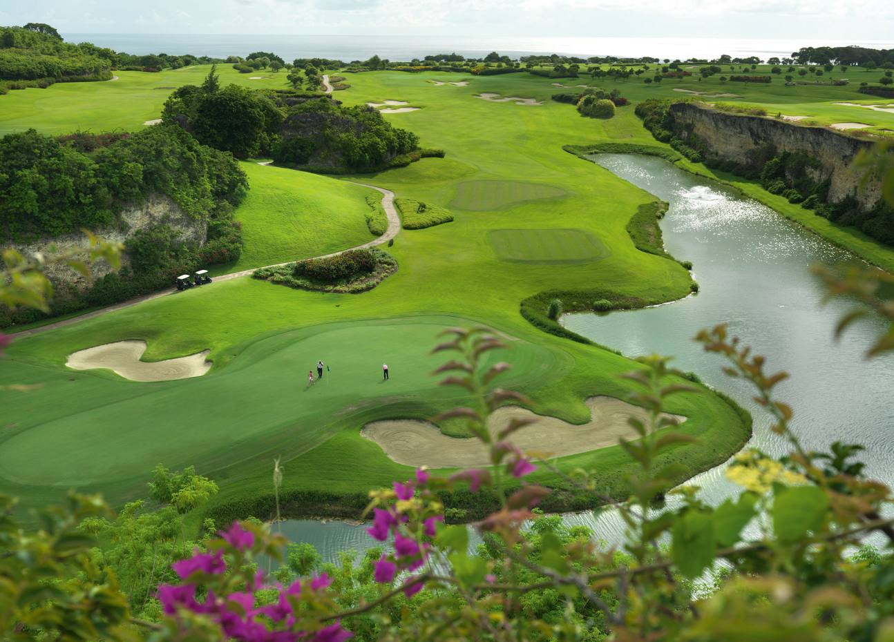 The Green Monkey is one of three courses at Barbados's exclusive Sandy Lane golf estate