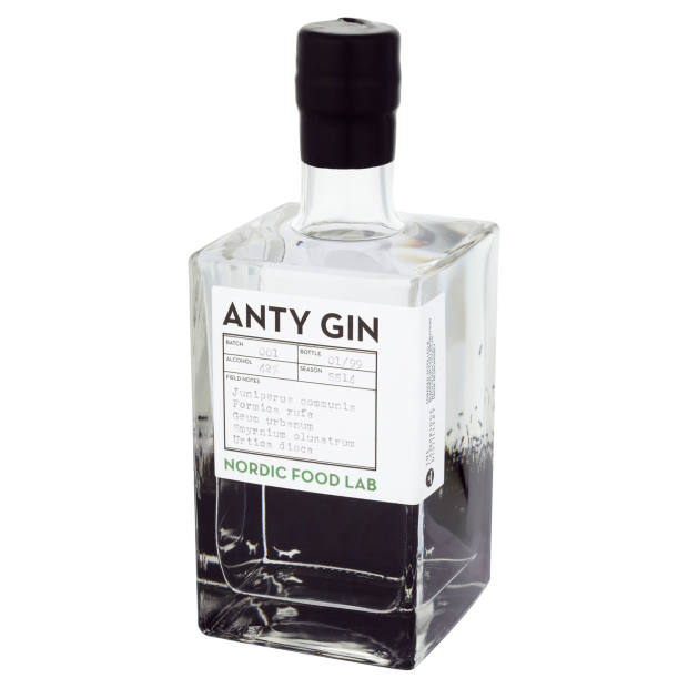 Anty Gin, devised by master distiller Will Lowe for Nordic Food Lab