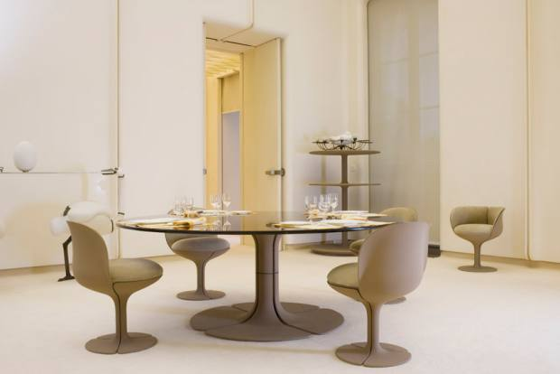 Paulin, Paulin, Paulin's dining table, from €20,000, and chair, from €5,000