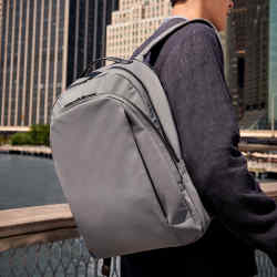 Away nylon and leather backpack, £195