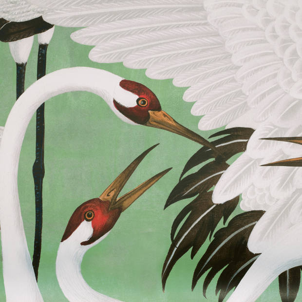 Gucci Heron wallpaper, £315 for two panels
