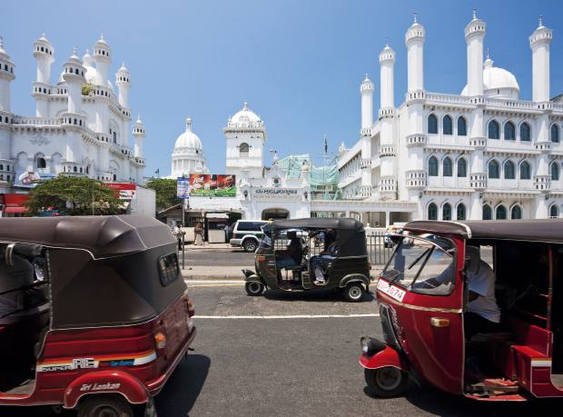 The Dewatagaha mosque in Colombo
