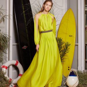 Vionnet silk/elastane maxi dress, £1,845