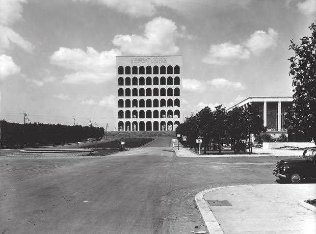 The palazzo in 1953