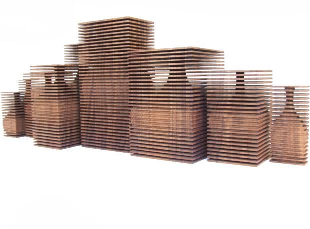 Block vessels by Gareth Neal, £4,800