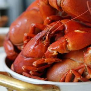 The alfresco crayfish festival will take place in St James's Market outside Aquavit London