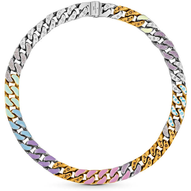 Louis Vuitton enamel and crystal Soapy necklace, £2,510