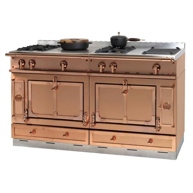 La Cornue copper Château 150 range, £36,960