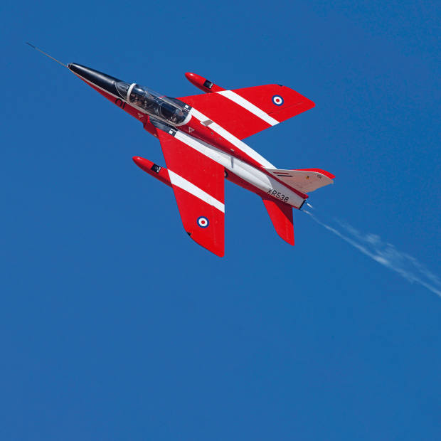 The Folland T1 Gnat was used for training fast-jet pilots in the 1960s and '70s