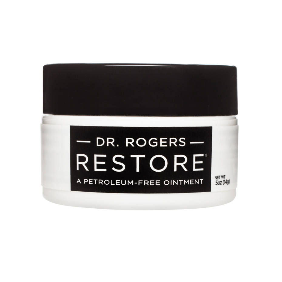 Dr Rogers Restore lip balm, $30 for 140g