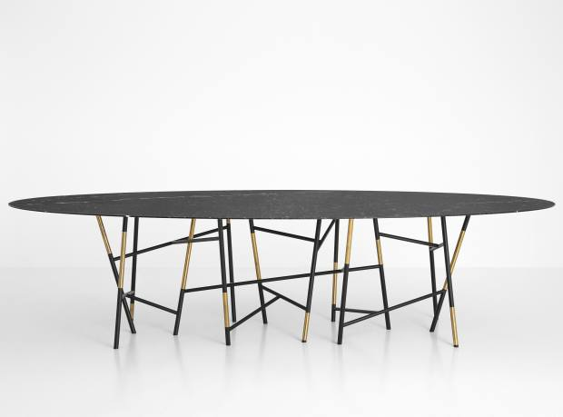 Marble, metal and brass Tavolo 063 table, from £26,121
