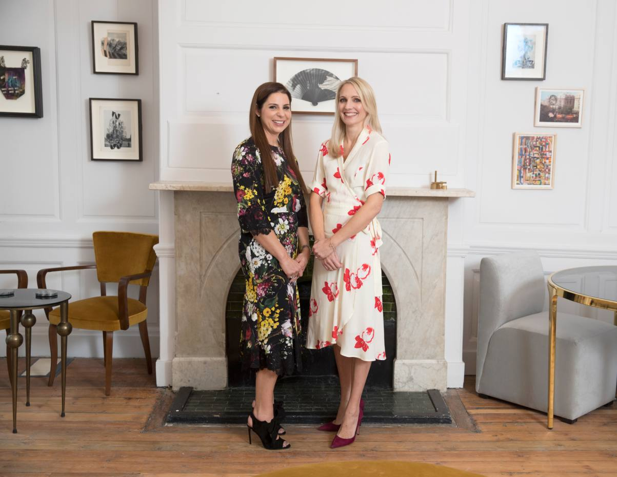 AllBright co-founders Debbie Wosskow (left) and former Hearst UK CEO Anna Jones