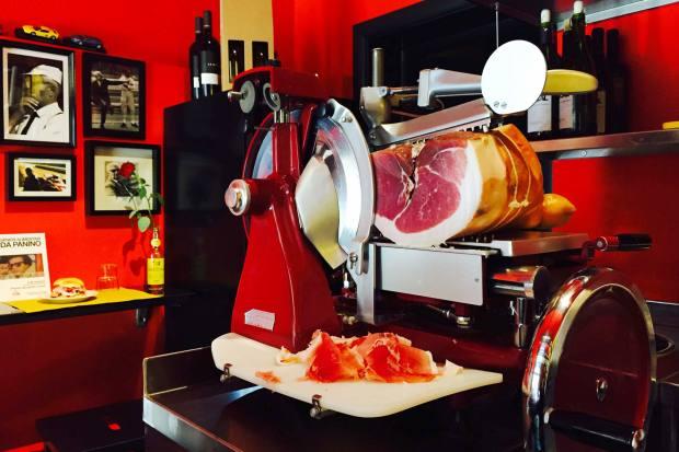 Prosciutto cotto is a highlight at Da Panino
