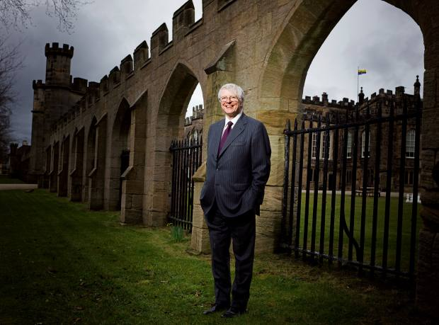 Fund manager and philanthropist Jonathan Ruffer, the man behind Kynren, at Auckland Castle
