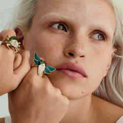 Rings in Stephen Webster's eye-catching Jitterbug collection start from £3,400