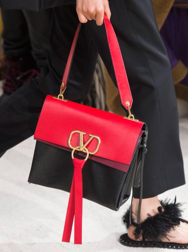 Valentino Garavani leather V-Ring bag, £2,100