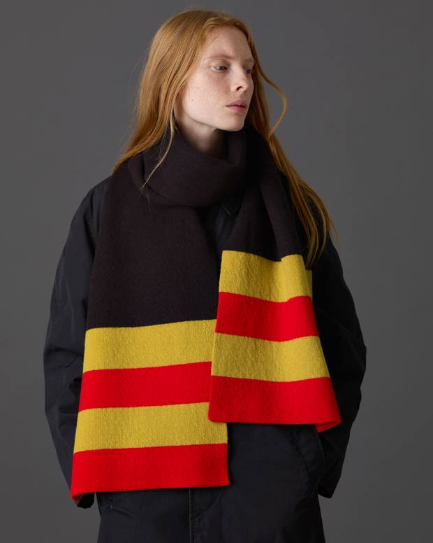 Jo Gordon lambswool Floor Sweeping scarf, £129