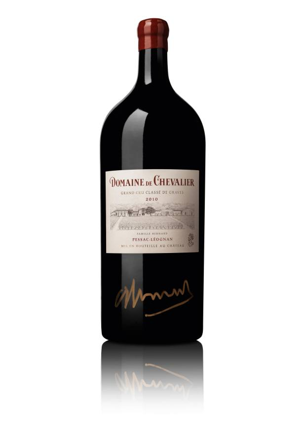 Domaine de Chevalier Rouge 2010, six-litre bottle, $1,000-$2,000