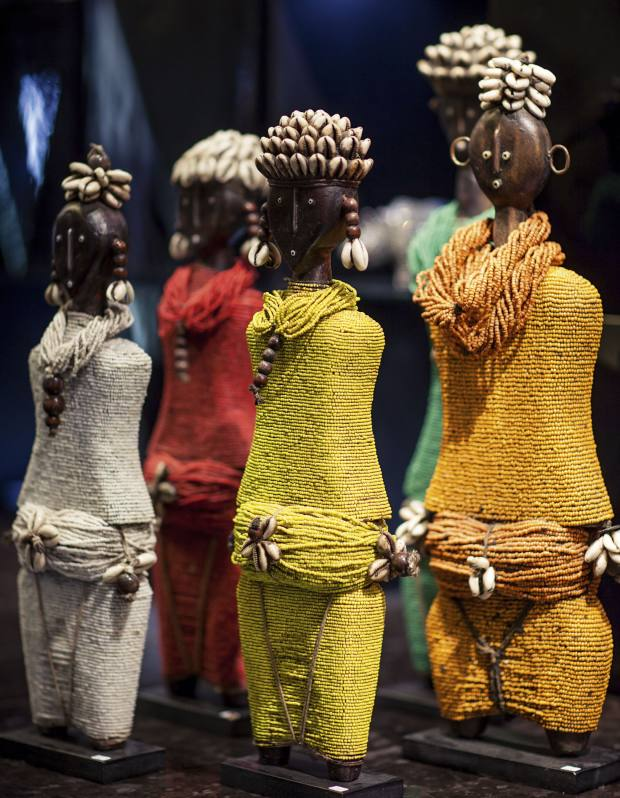 Namji dolls from Cameroon, R800 (£63), by Amatuli
