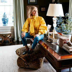 """""""My style icons are women of character,"""" says Tory Burch"""