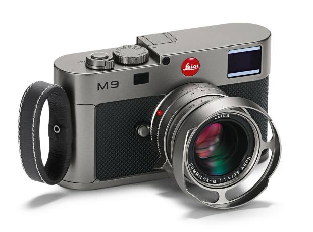 The Leica M9 Titanium camera, £19,800