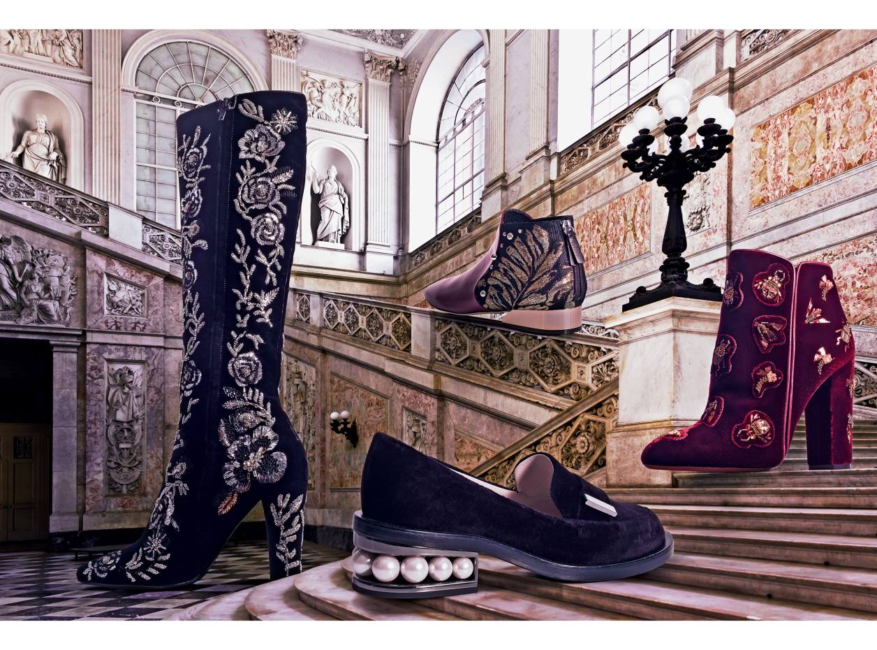 c1fb79e1845c Splendour afoot  embellished shoes and boots