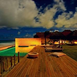 The swimming pool at Kenoa